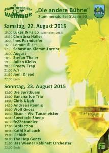 Stammersdorfer Weintage 2015