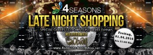 LATE NIGHT SHOPPING mit DIE LAUSBUAM + Specialguests