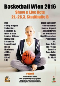 Basketball Wien 2016