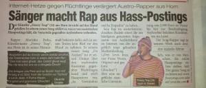 Heute Zeitung: Du Asylant