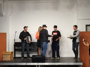1. Platz beim Austrian Talent Award 2015