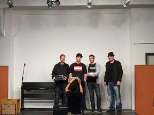 1. Platz beim Austrian Talent Award 2015