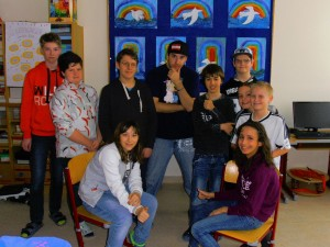 Rap - Vortrag in der Sonderschule Horn - 2016