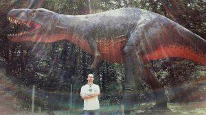 Freezy und der T-Rex