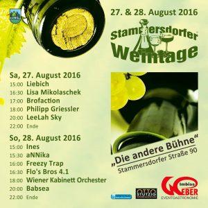 Stammersdorfer Weintage 2016