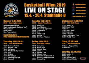 Basketball Wien 2019