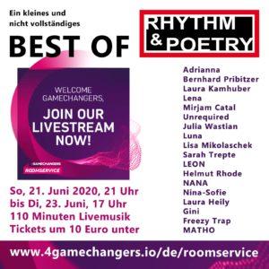 Rhythm & Poetry Best of Live Stream